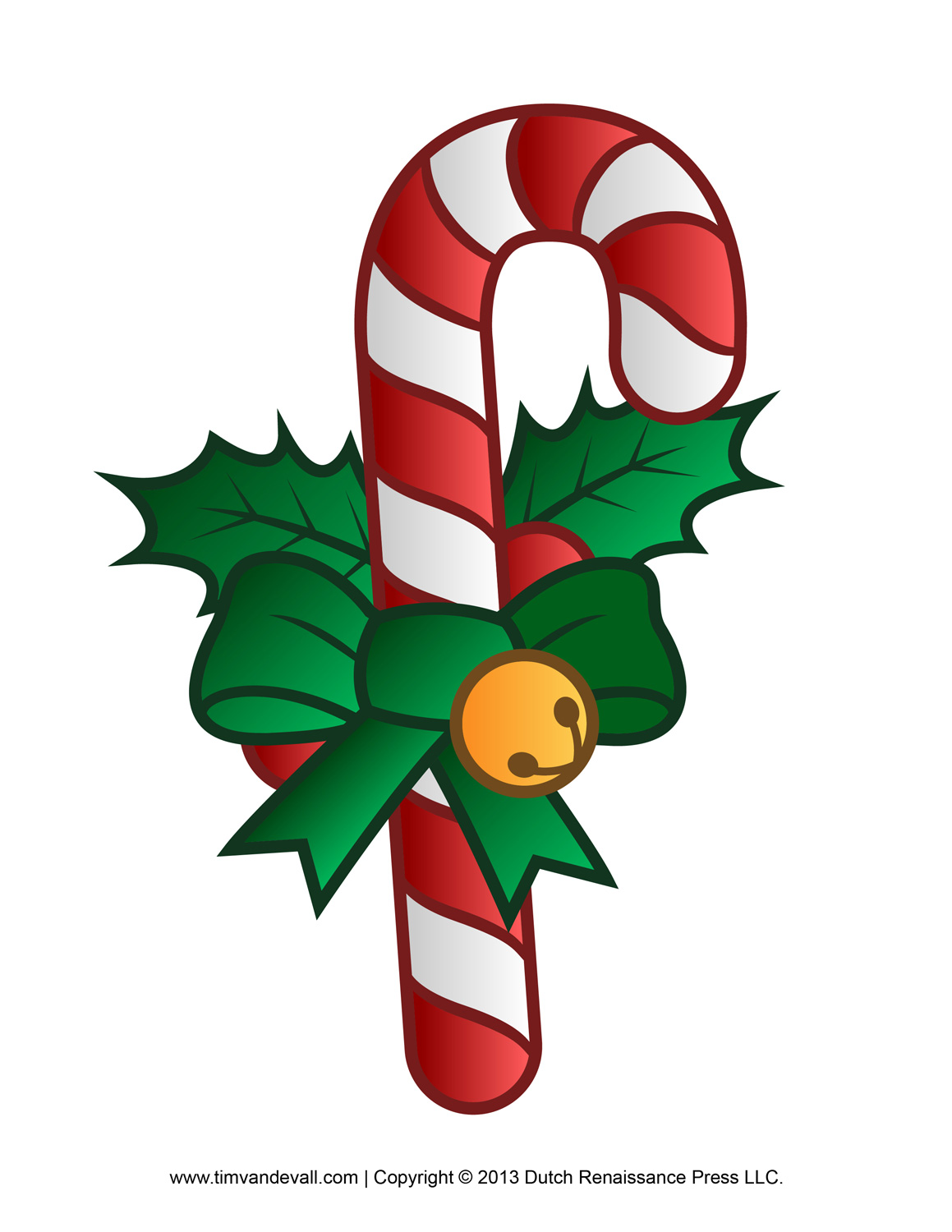Candy cane free clipart