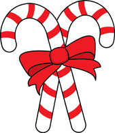 Candy Cane Free Clipart. Two Candy Canes-Candy cane free clipart. two candy canes red ribbon-8