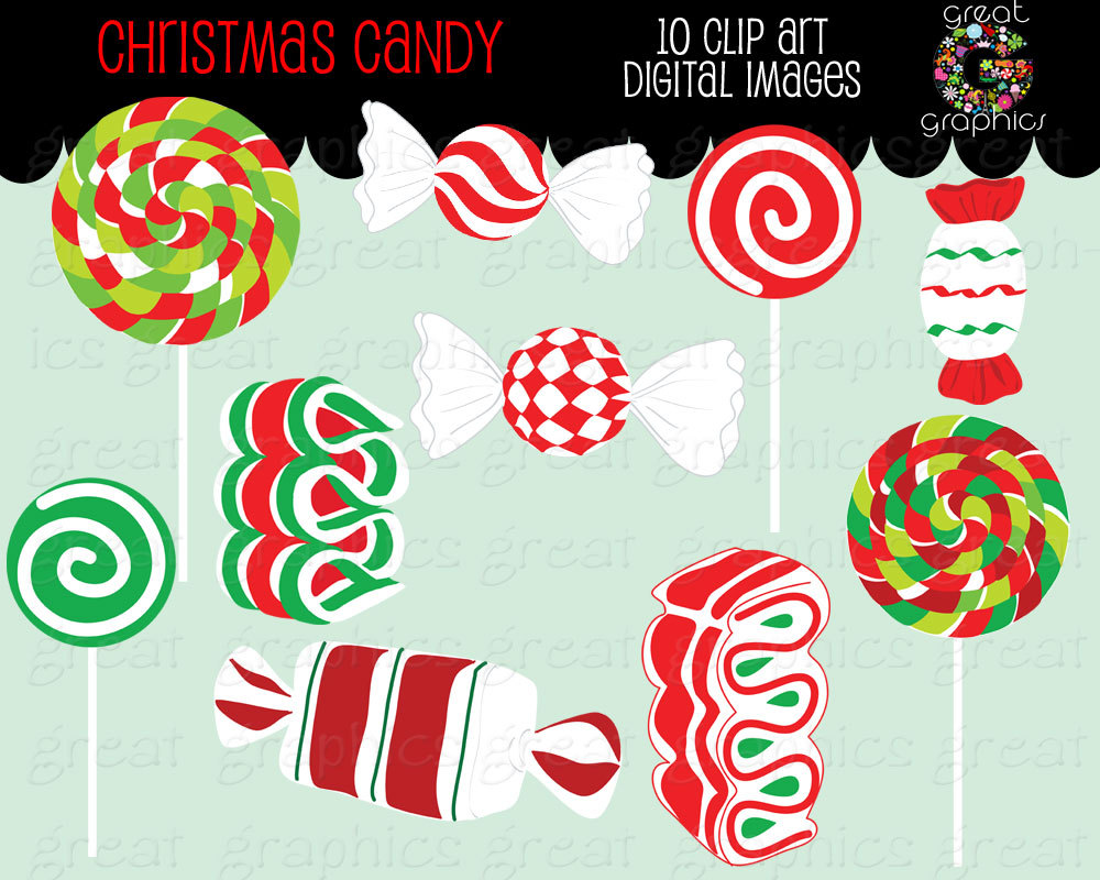 ... Candy Clipart Holiday Clipart -.