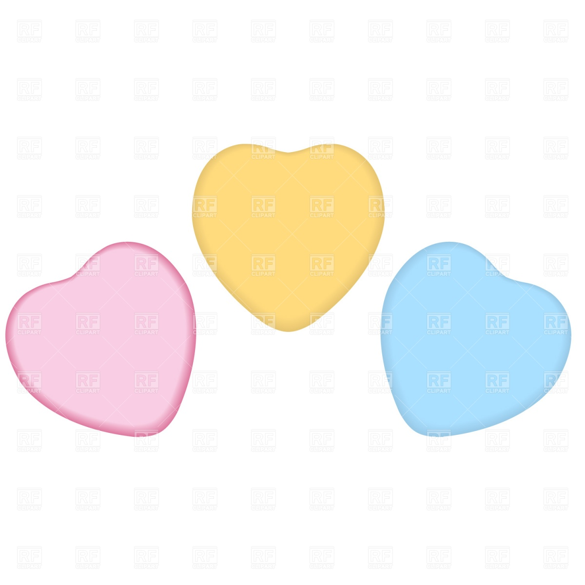 Candy Heart Clip Art