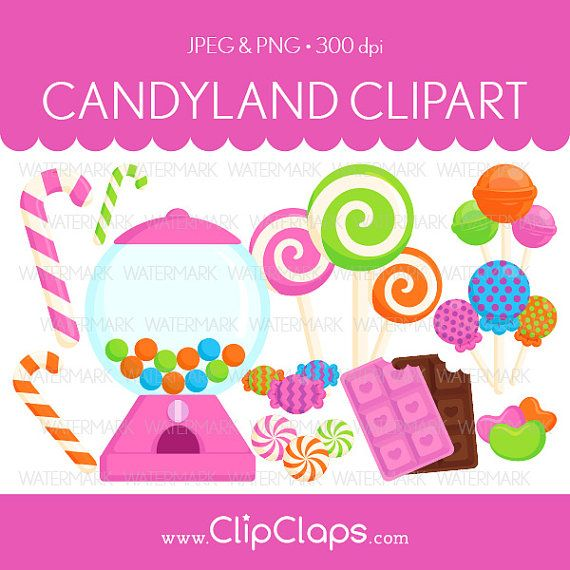 Christmas Candyland Clipart.73 Candyland Clipart Clipartlook