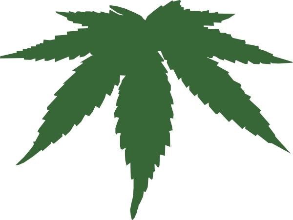 Cannabis Leaf clip art-Cannabis Leaf clip art-12