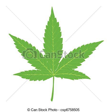 ... Cannabis leaf. Fully editable by lay-... Cannabis leaf. Fully editable by layers, vector (eps8).-10