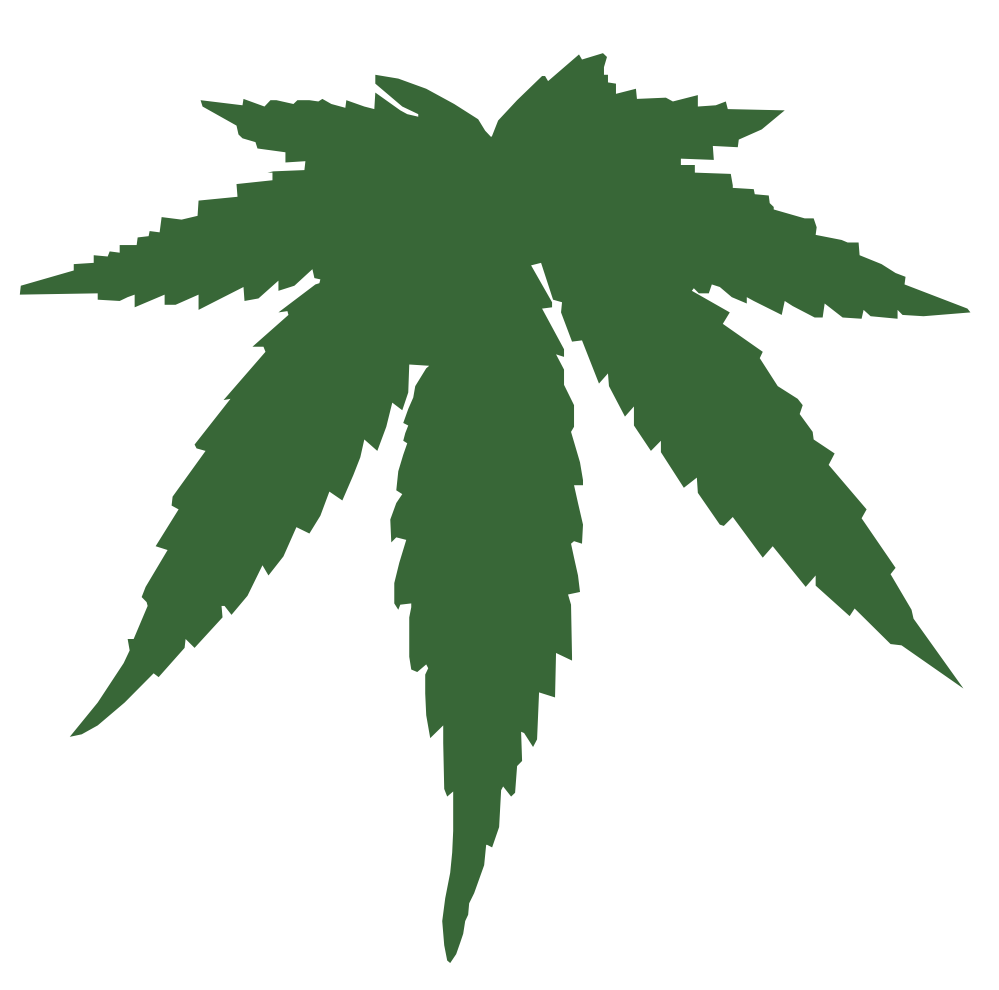 Cannabis Marijuana Leaf Clipart - Clipart Kid