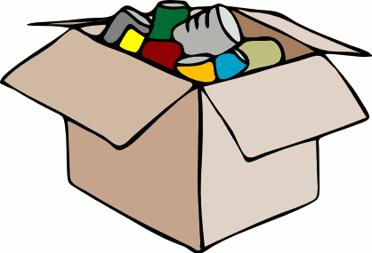 Canned food clipart free - Canned Goods Clip Art