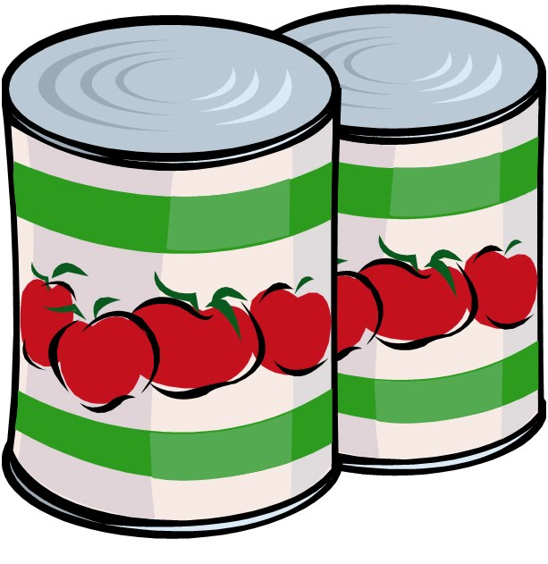 ... Canned Food Clipart - Free Clipart Images ...