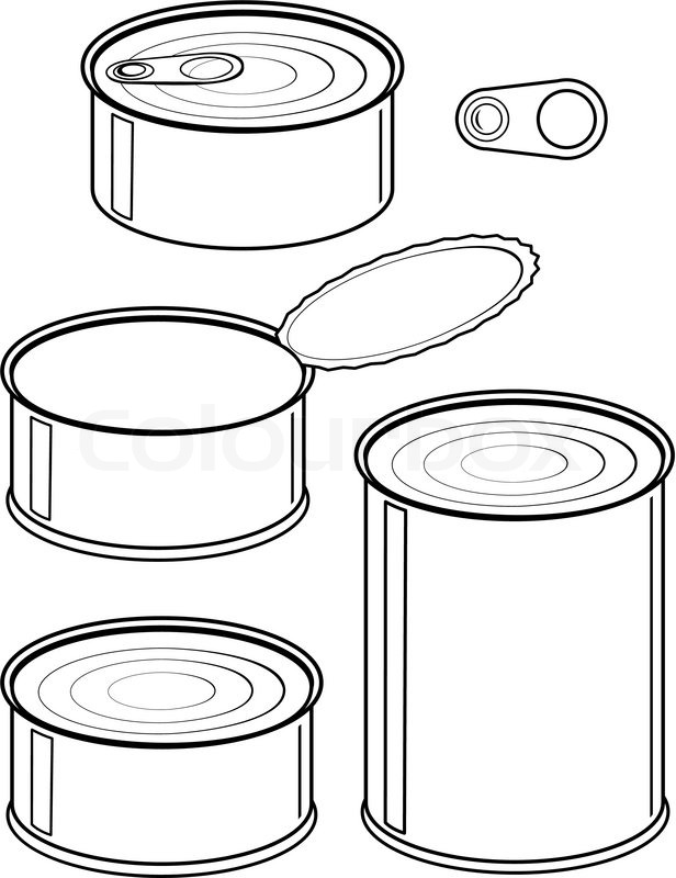 Canned Food Clipart | Healthy .-Canned Food Clipart | Healthy .-9