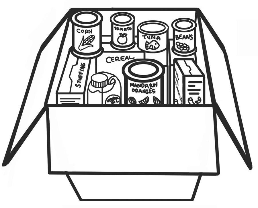 Canned food clipart hostted