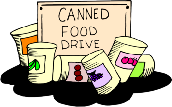 Canned Food Drive Clipart Best