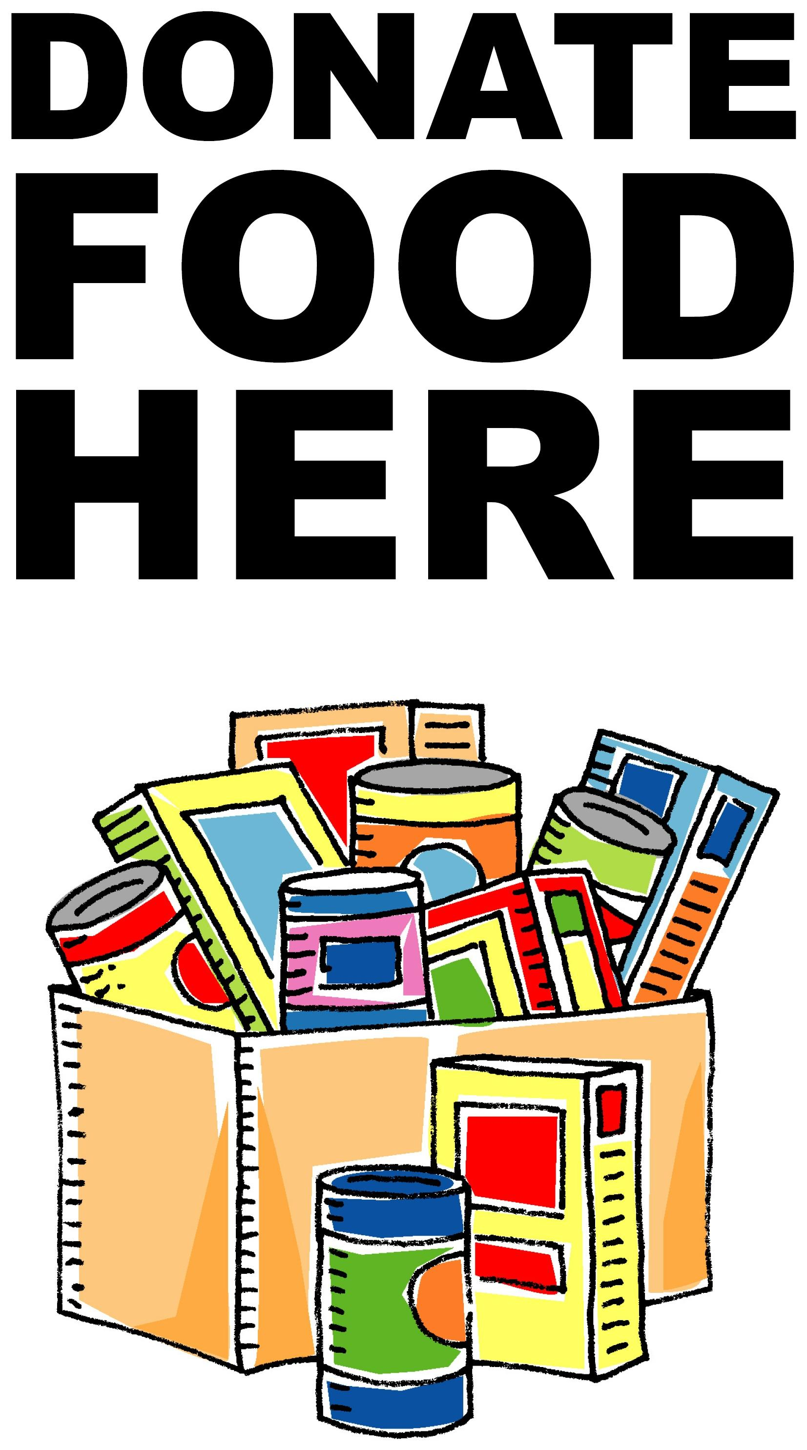 Canned Food Drive Slogans Can Food Drive Clip Art