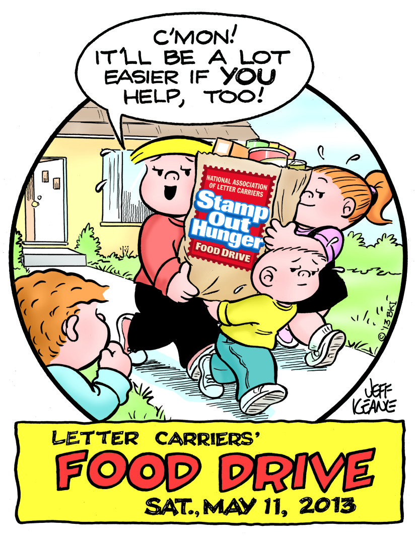 Canned food food drive clip art 3