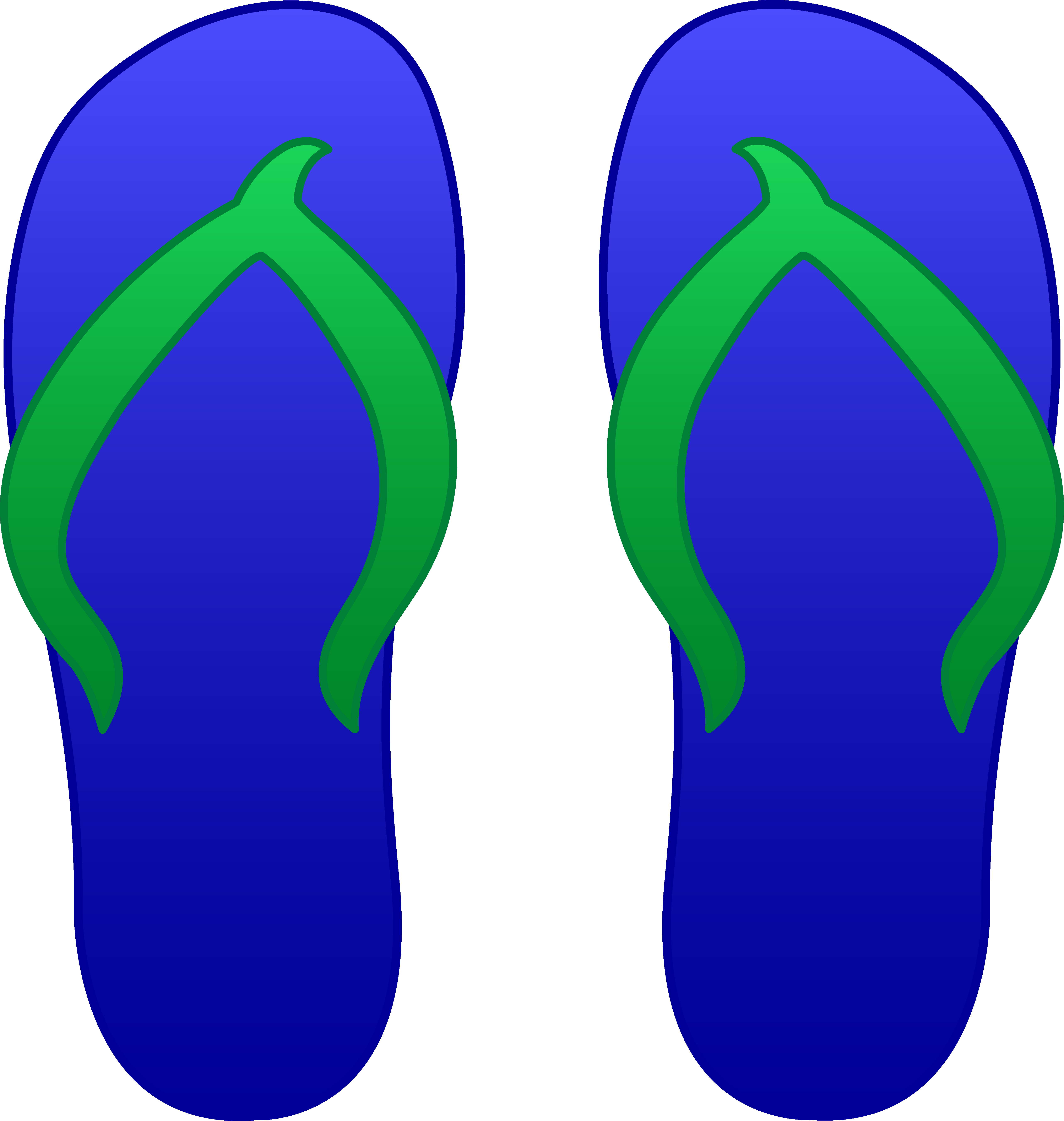 Clip Art Flip Flops