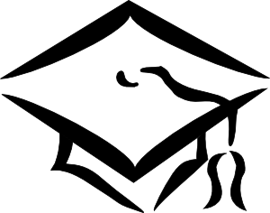 Cap And Gown Clipart For .-Cap And Gown Clipart For .-5