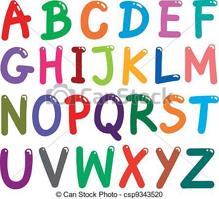 capital letters alphabet alphabet letters clip art