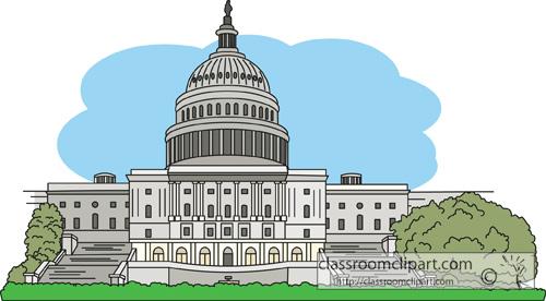 Capitol Building Free Clipart - Capital Clipart