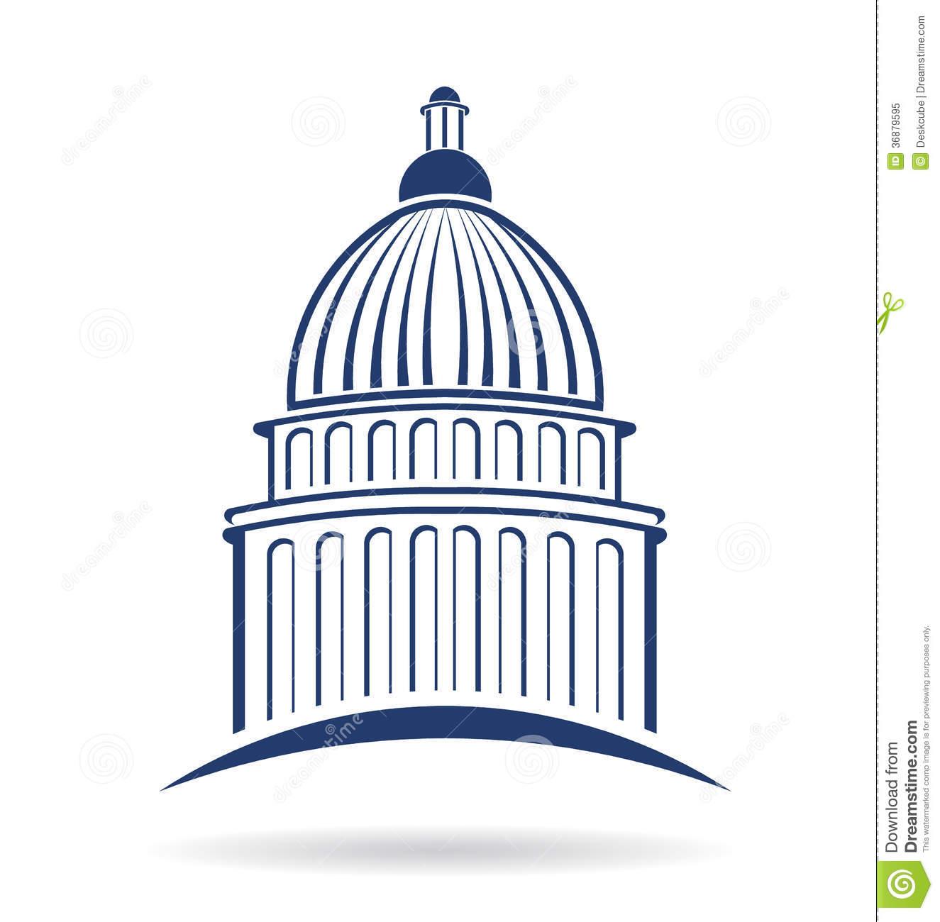 Capitol building Logo .