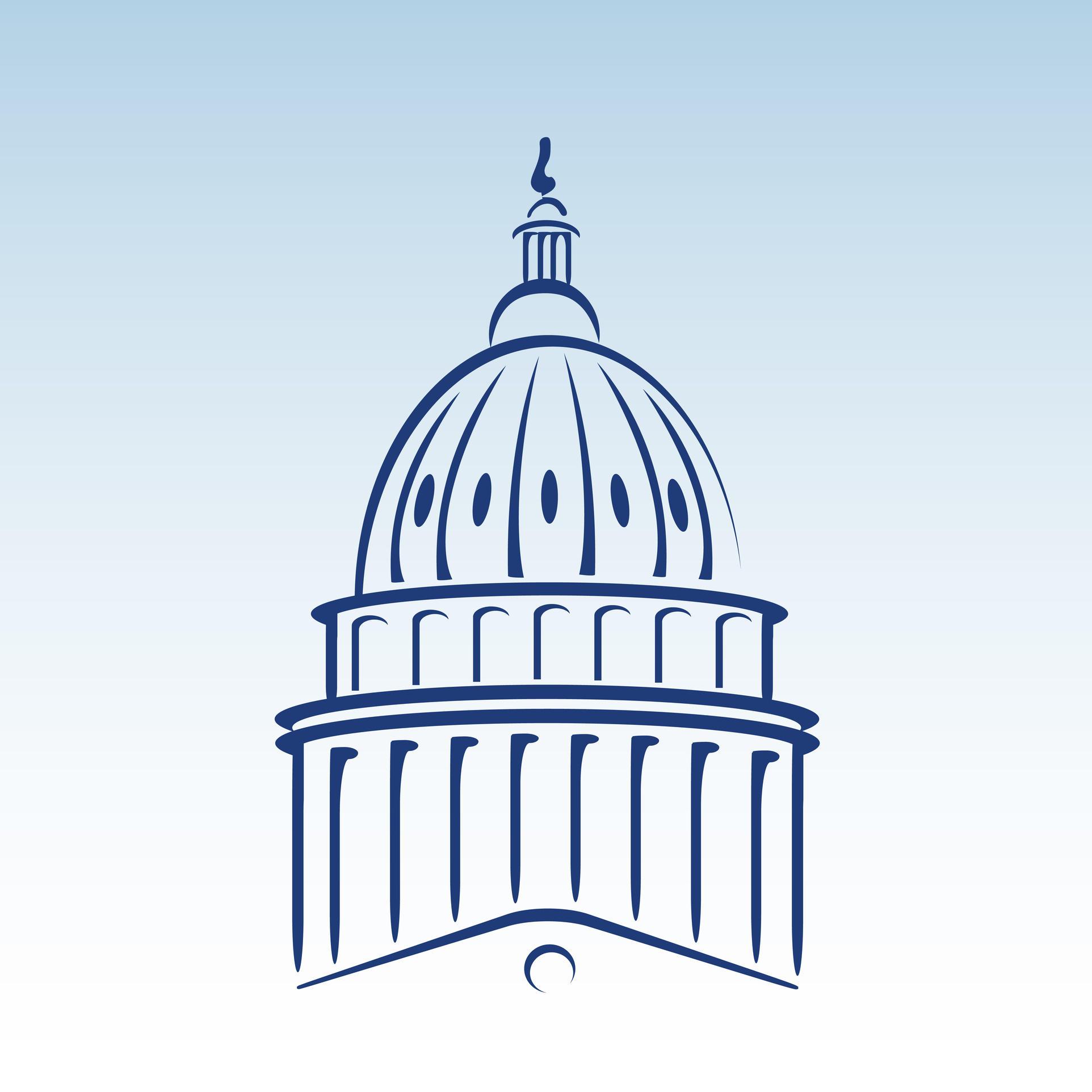 Capitol Building Vector-Capitol Building Vector-9