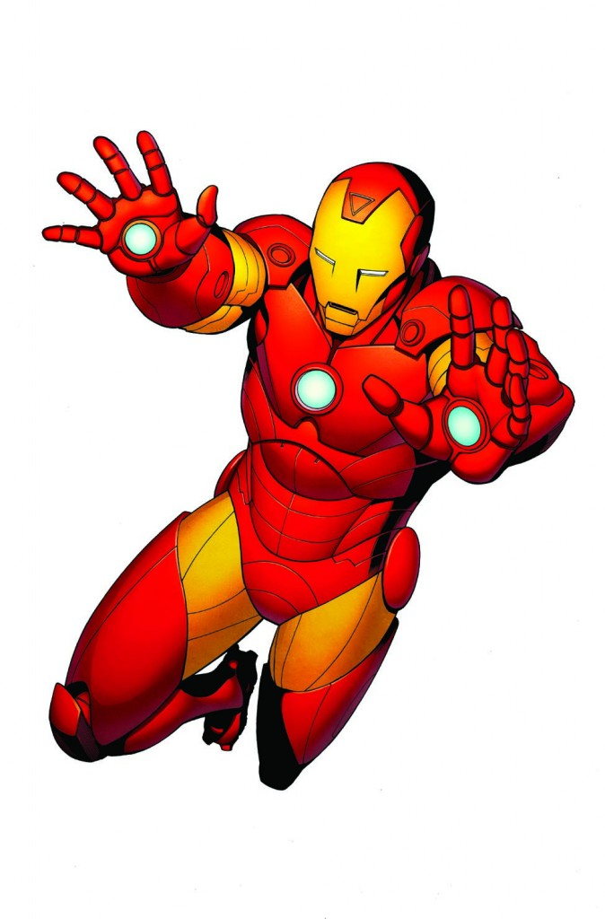 Capt Iron Man Color Final Free Clipart Images