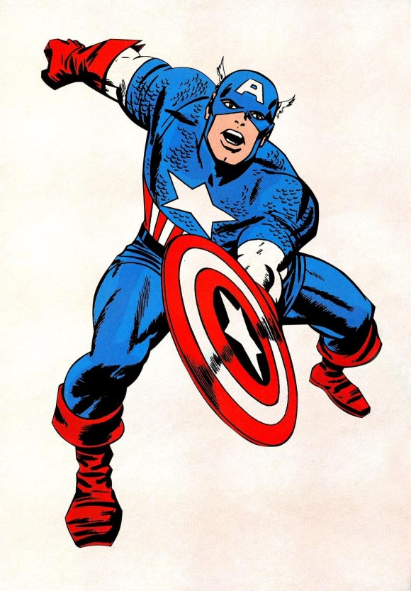 Captain America Background .