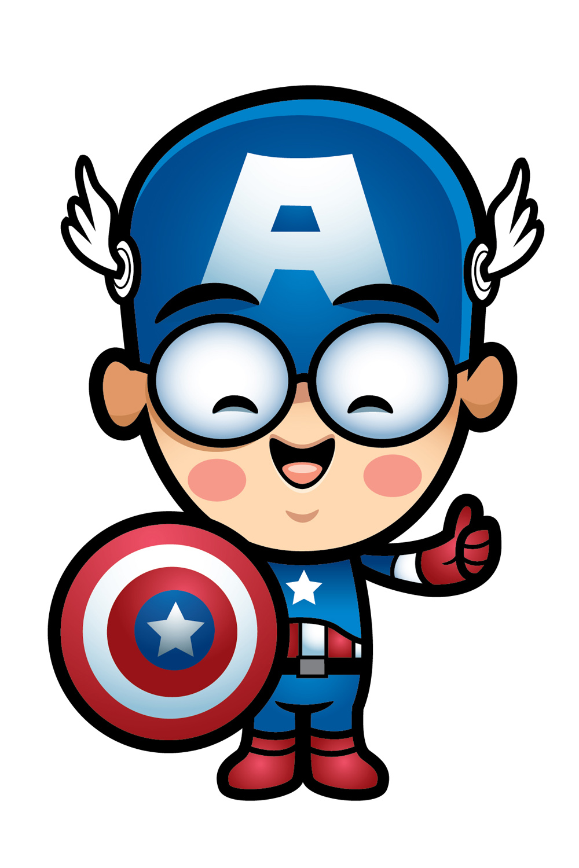 Captain America Clip Art. Captain America clipart
