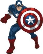 Captain America Clip Art ..-Captain America Clip Art ..-7