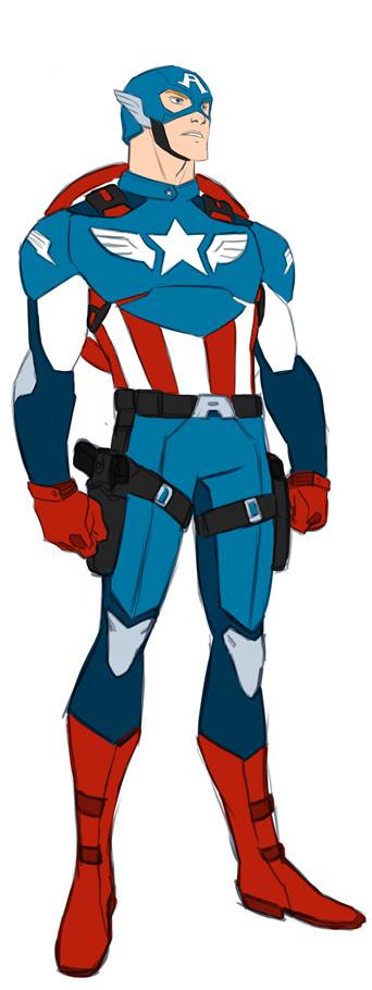 Captain America Clip Art Clipart Best