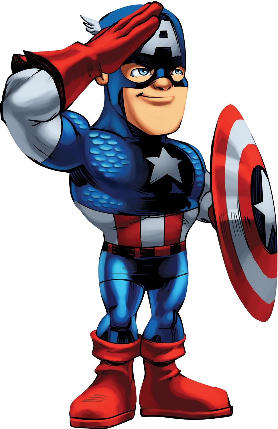 Captain America Icon Clipart