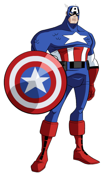 ... Captain America Clipart ...