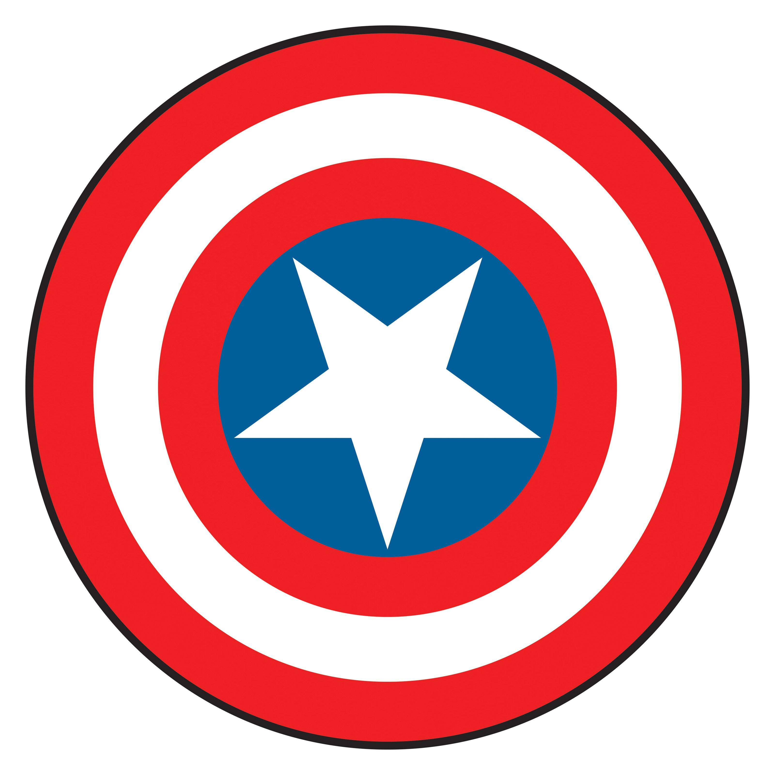 Captain America Shield Clipart #1-Captain America Shield Clipart #1-12
