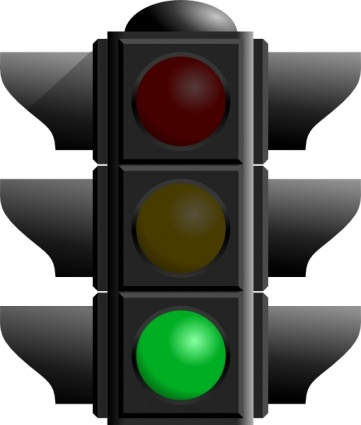 Car At Stop Light Clipart-car at stop light clipart-3