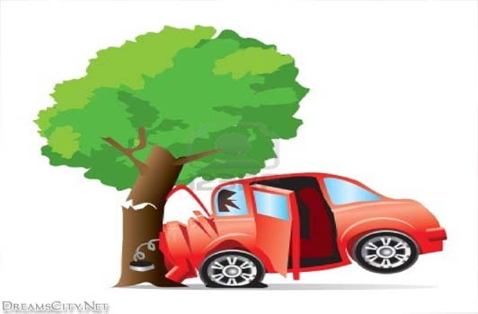 Car accident tree clipart - .-Car accident tree clipart - .-14