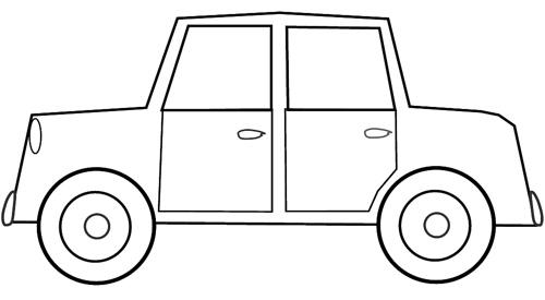 Car black and white car clipart black and white tumundografico 5