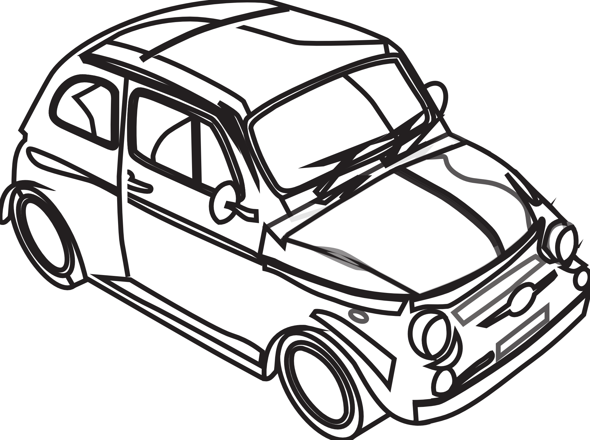 Car Clip Art Black And White Clipart Panda Free Clipart Images