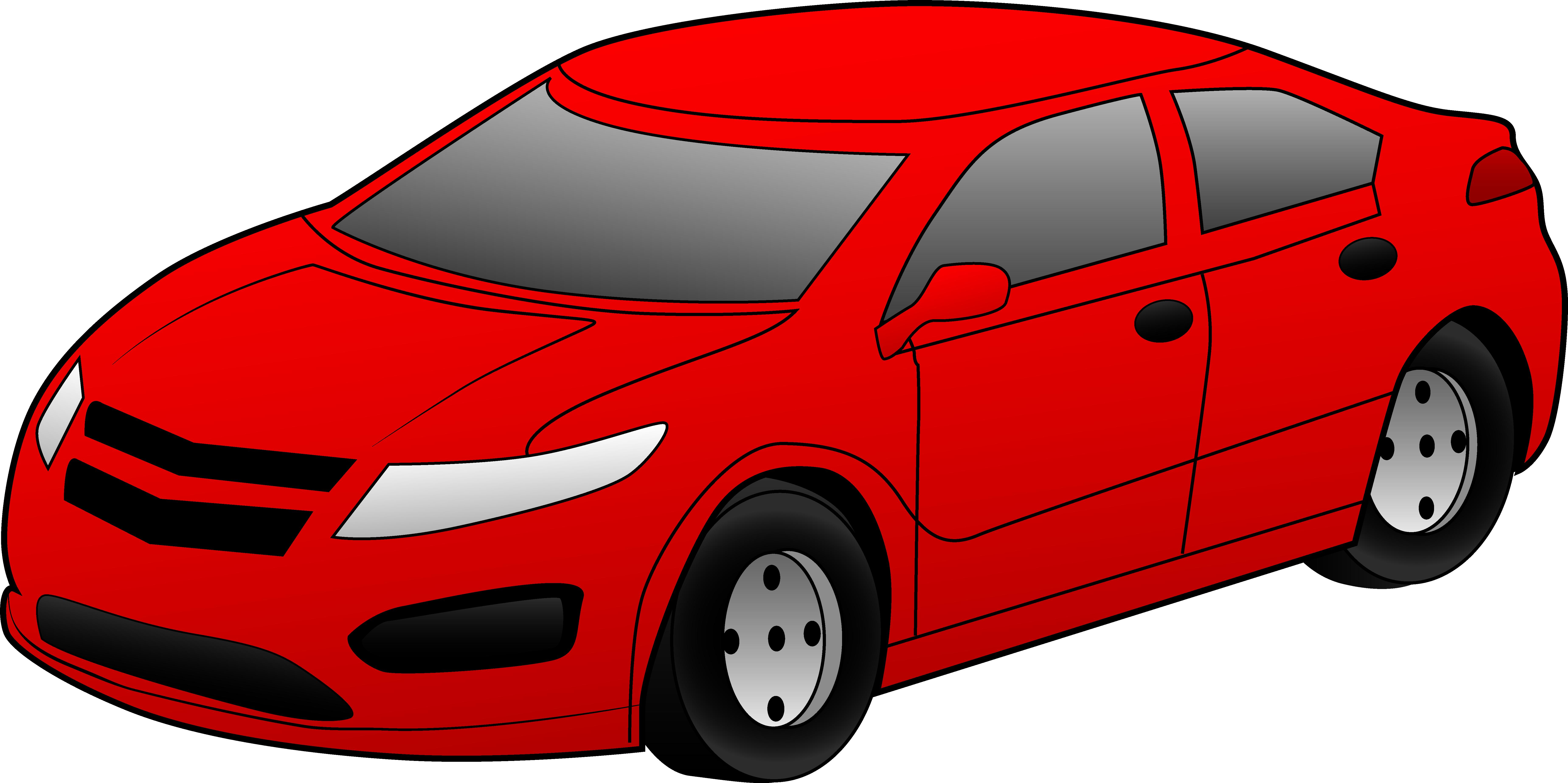 Black sports car clipart: Car - Car Clipart