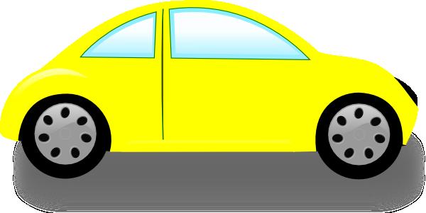 Car Clip Art: Yellow Car clip - Car Clipart