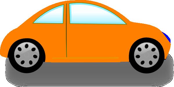 Car clipart: Download Orange  - Car Clipart