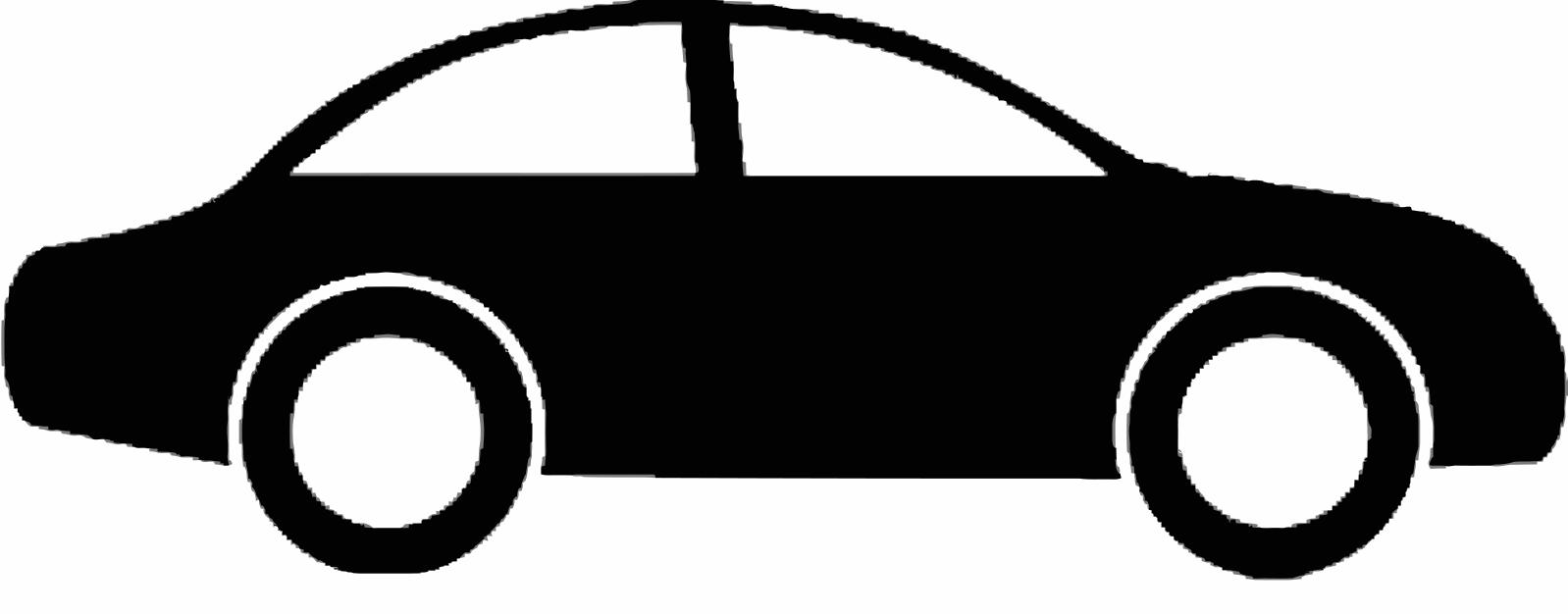 Car V Vectorized Image