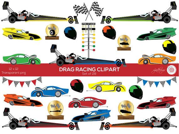 Car Clipart, Drag Racing Clip Art, Race -Car Clipart, Drag Racing Clip Art, Race Cars, Kidu0026#39;s Clipart, Scrapbooking,-9