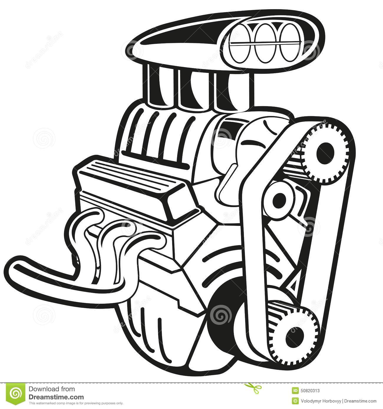 35 Engine Clipart Clipartlook