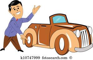 car salesman with classic car-car salesman with classic car-18