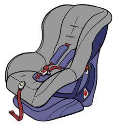 car seats clip art .-car seats clip art .-1
