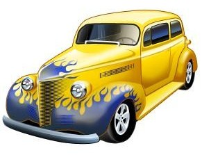 Car Show Clipart