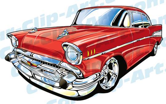 Car Show Clipart u0026middot; 57 Chevy C-Car Show Clipart u0026middot; 57 Chevy Clip Art-9