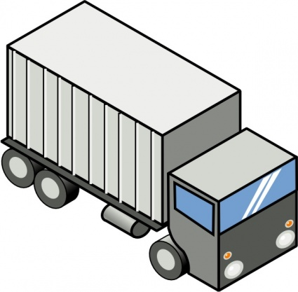 Car Truck Bus Vectors; Iso Tr - Delivery Truck Clipart