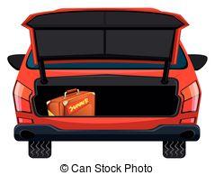 . ClipartLook.com Back of red car illustration