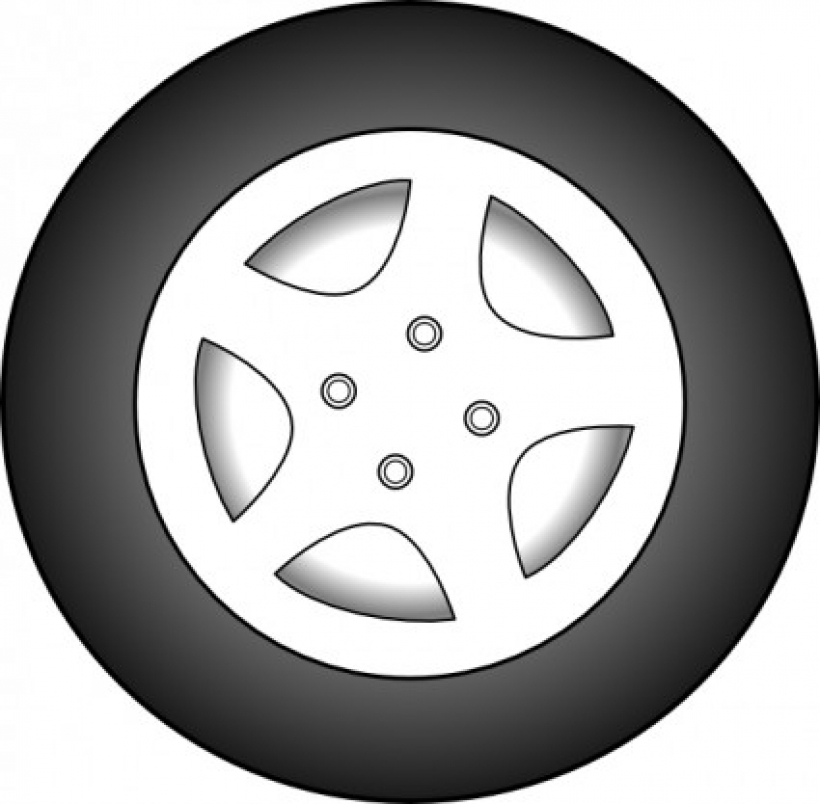 car wheel clip art free vector .-car wheel clip art free vector .-6