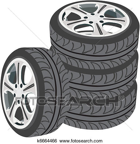 Clip Art - Car wheels. Fotosearch - Sear-Clip Art - Car wheels. Fotosearch - Search Clipart, Illustration Posters,  Drawings,-18