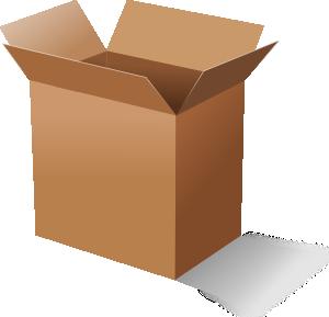 Cardboard Box Clip Art-Cardboard Box Clip Art-5