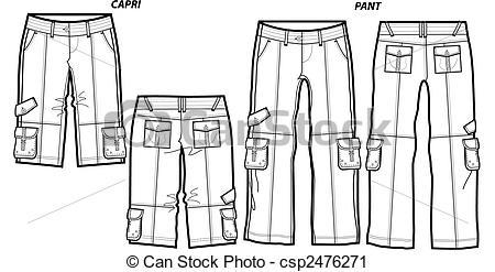 Ladies Capris And Pants-Ladies Capris And Pants-18
