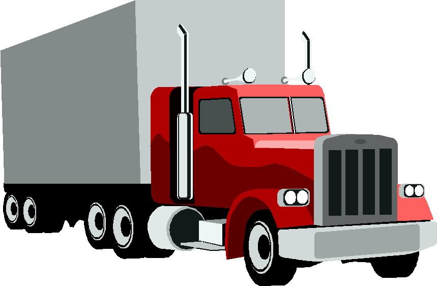 Cargo Truck Clipart-Clipartlook.com-859